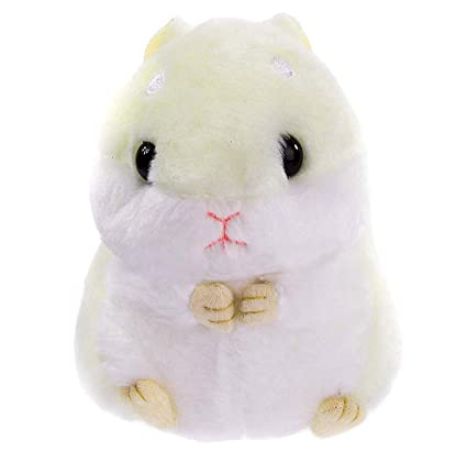 Amazon.com  Womens Hamster Keychain Plush Stuffed Animal Keychain ... 2be7de091c
