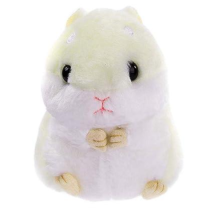 Amazon.com  Womens Hamster Keychain Plush Stuffed Animal Keychain ... ffc0aa3011