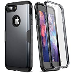 YOUMAKER Case for iPhone 8 Plus & iPhone...