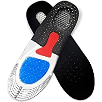 Orthotic Arch Support Sport Shoe Pad Sport Running Gel Insoles Insert Cushion for Men Foot Care