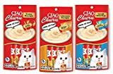 Ciao Churu Cat Treat Creamy Puree Bundle of 3 Packs (1 pack Chicken flavor, ...