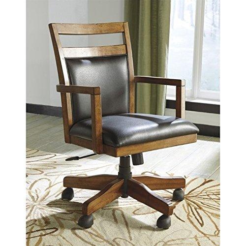 Cheap  Ashley Furniture Signature Design - Lobink Home Office Desk Chair - Adjustable..