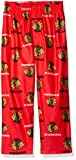 Outerstuff NHL Chicago Blackhawks Toddler Boys Sleepwear All Over Print Pants, Size 3T, Red