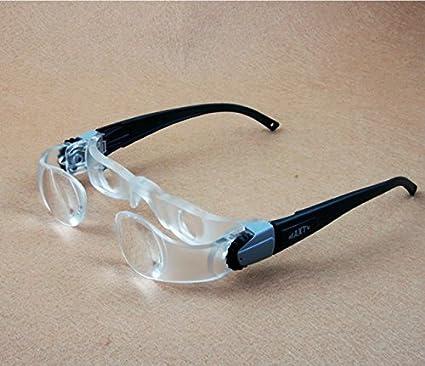 058e673620 Inovey Baja Visión Gafas Portátil Lupas Cabeza Lupa Lectura Lupa Lente  Joyería Lupa-Gafas De