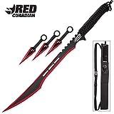 K EXCLUSIVE Red Guardian Ninja Sword and