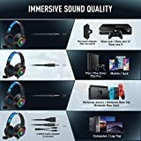 ONIKUMA PS4 Headset -Gaming Headset Xbox one