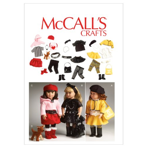 McCalls Patterns Clothes Accessories Template