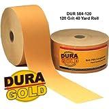 "DURA-GOLD 120 Grit 2-3/4"" PSA Roll Longboard Sandpaper"