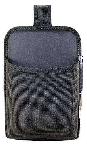 Agora Leather AC1746DW Ultimacase Universal Tablet Holster with Belt Loop and D-Rings, Lightly Padded, Open Design Allows One Handed Access, 7
