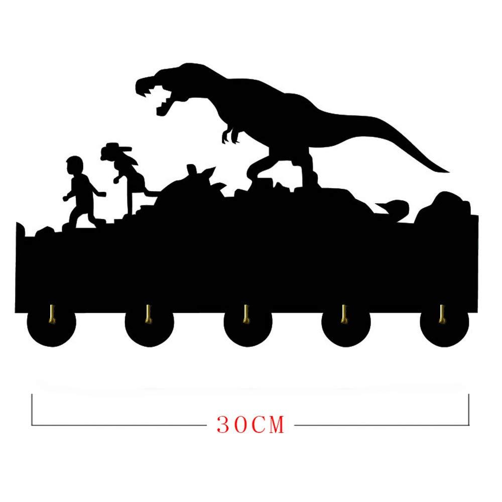 LUYION Tema de Dinosaurio De Madera Perchero de Montaje en ...