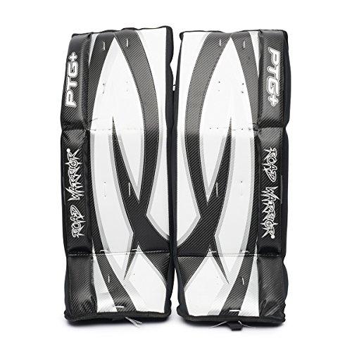 Road Warrior ROA-HOC-PTG+28 Street Hockey Goalie Pads (Ice Goalie Pro Leg Hockey)