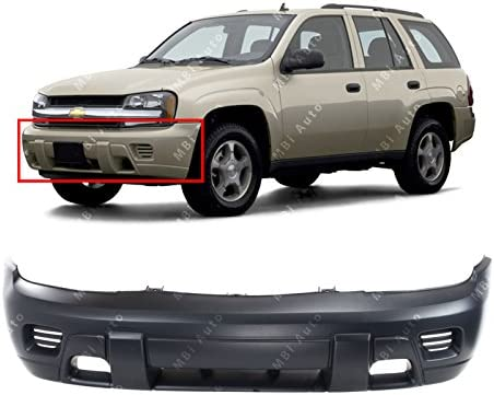 Bumper Covers Set of 2 Auto Body Repair Compatible with 2002-2009 ...