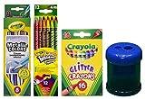 Crayola Twistable Erasable Colored Pencils, 12 Count |Metallic FX Colored Pencils - 8