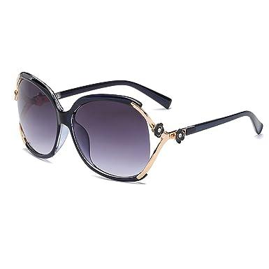 VeBrellen Herren Polarisierte Sonnenbrillen Für Autofahren Damen Brillen 100% Polarisierter UV-Schutz VS012 - Black Frame Red Lens g0CARjL