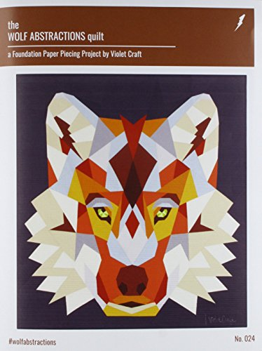 Violet Craft VC024 Wolf Abstractions Quilt Pattern