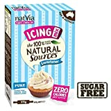 Natvia Sugar Free Natural Sweetener Icing Mix 375g - Pack of 6