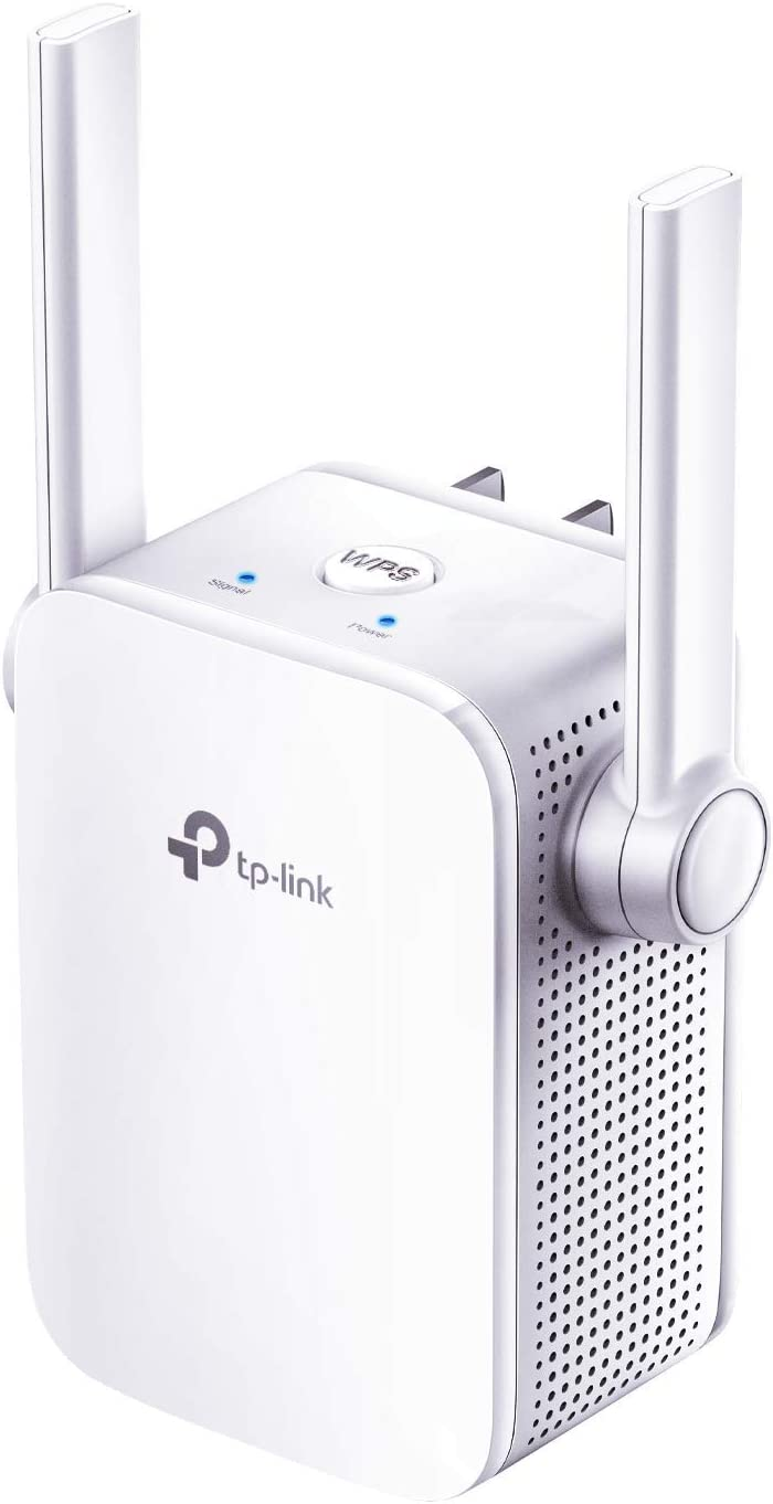TP-Link N300 WiFi Extender(RE105), WiFi Extenders Signal Booster for Home, Single Band WiFi Range Extender, Internet Booster, Supports Access Point, Wall Plug Design, 2.4Ghz only