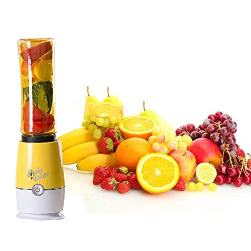 Mélangeur Portatif Multifonctionnel De Mini Presse-Fruits De Fruit De Juicers 4 Disponibles Dans 5 Couleurs,Yellow