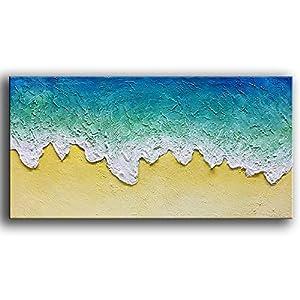 51J51x521UL._SS300_ Beach Paintings & Coastal Paintings