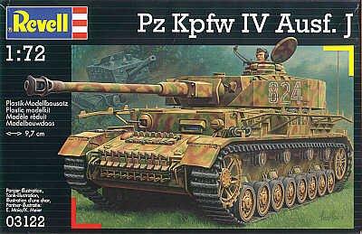 Revell 03122 - Panzerkampfwaagen IV Ausf. J - Maßstab 1 72