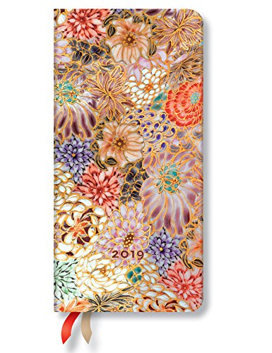 Paperblanks 2019 Kikka Slim 12-Month Week-at-a-Time Planner