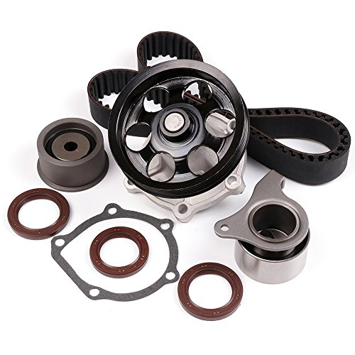 (SCITOO Timing Belt Water Pump Kit Fit 1995-1997 Toyota Paseo 1995-1998 Toyota Tercel 1.5L L4)