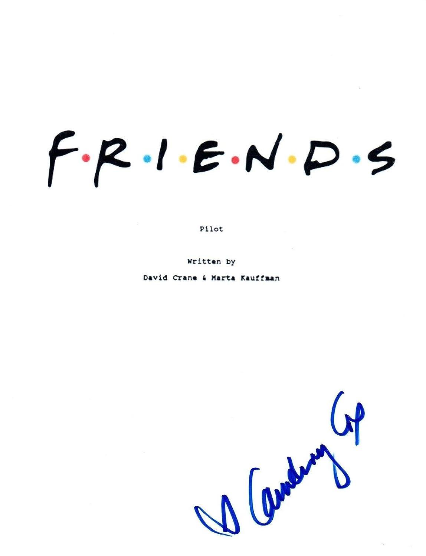 Courteney Cox Signed Autographed FRIENDS Pilot Episode Script COA Unbranded