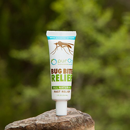 PurO3 Bug Bite Relief with Ozonated Oils - Natural Itch Fighter