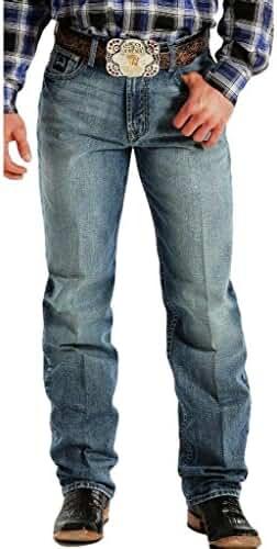 Cinch Men's Label Medium Wash Jeans - Mb90633006 Ind