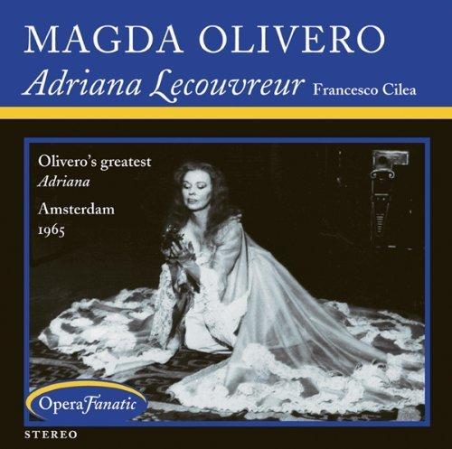 Francesco Cilea: Adriana Lecouvreur by Magda Olivero, Renato Capecchi [Music CD]