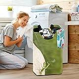 GlaKc Premium Laundry Hamper Basket, Heavy Duty