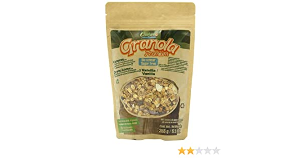 Amazon.com : Enature Granola Premium, Vanilla, 12.5 Ounce : Grocery & Gourmet Food