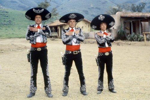 The Three Amigos Steve Martin Group 24X36 Poster