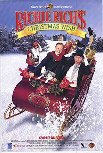 Richie Richs Christmas Wish.Amazon Com Richie Rich S Christmas Wish Poster 11 X 17