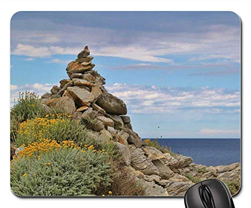 Mouse Pad - Trail Directory Signposts Hiking Trails -