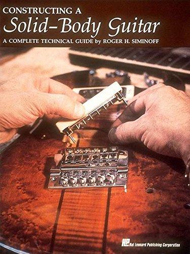 Solid Guitar Red - Constructing a Solid-Body Guitar: A Complete Technical Guide