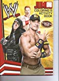 wwe coloring - W Jumbo Coloring & Activity Book WWE also Featuring CM Punk, the Miz, the Rock, & More