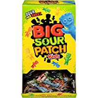 240 Count Bulk SOUR PATCH KIDS Sweet and Sour Halloween Candy, Trick or Treat Individually Wrapped Packs