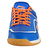 Li-Ning (AYTL085-3) Play Blue and Orange Badminton Shoes- UK 7