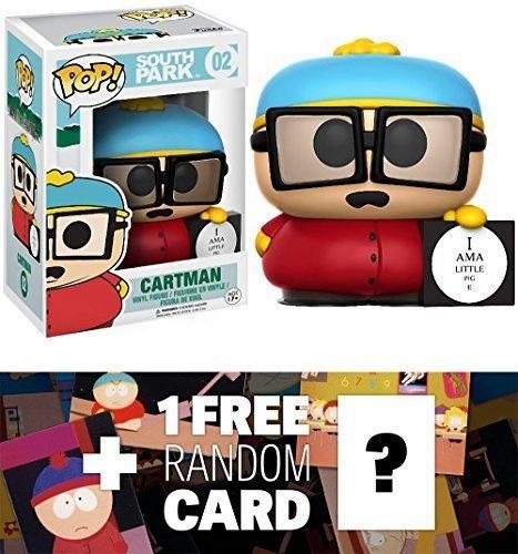 Funko Cartman Piggy POP! x South Park Vinyl Figure + 1 Free American Cartoon Themed Trading Card Bundle (124164)