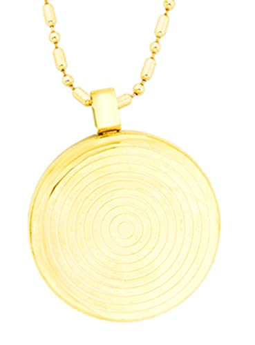 Buy quantum bio gold plated pendant chain necklace scalar energy quantum bio gold plated pendant chain necklace scalar energy negative ions emf protection mozeypictures Choice Image