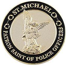 Saint Michael Patron Saint of Police Officer Challenge Coin Token Police Officer's Prayer (Value Pack)