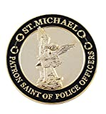 Saint Michael Patron Saint of Police Officer Challenge Coin Token Police Officer's Prayer (Value Pack)