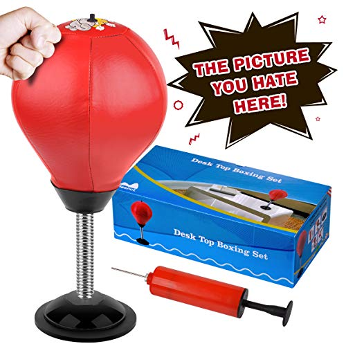 Cyrus Desktop Punching Bag Stress Buster Ball Stress Relief...