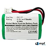 170mAh DC-17 Kinetic MH120AAAL4GC 650-058 Battery for SportDOG FR-200, FR-200A, SD-400, SD-400S, SD-800, Field Trainer 400, 400S, 800, Sporthunter 400, 800, Wetlandhunter 400, 800 Dog Collar Receiver For Sale