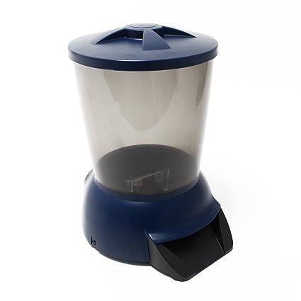 Jebao - Dispensador de comida para peces, 5L, automático,