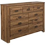 Signature Design by Ashley B369-31 Cinrey Dresser, Medium Brown
