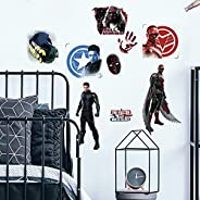 RoomMates RMK4701SCS Falcon and The Winter Soldier Peel and Stick Wall Decals