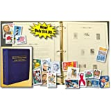 U.S. Stamp Collecting Starter Kit - Includes Album and Free Stamps Model: