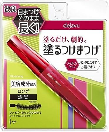 6941066ab56 Amazon.com : Dejavu Fiberwig Ultra Long Mascara, Pure Black, 0.25 Ounce :  Beauty